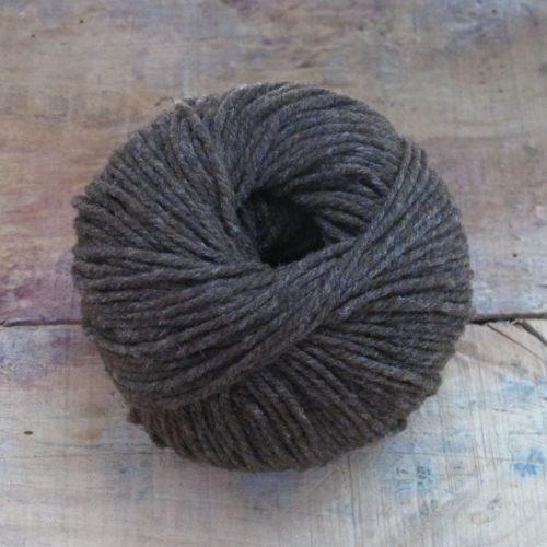 pelote laine mérinos française marron fado03 bellelaine 2019