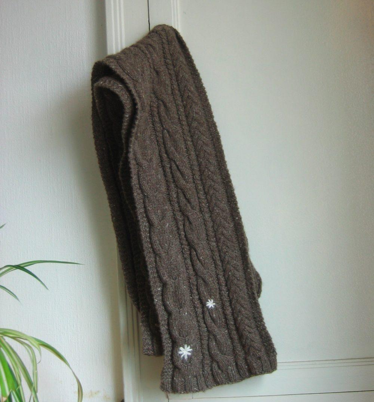 Écharpe laine de yack bellelaine
