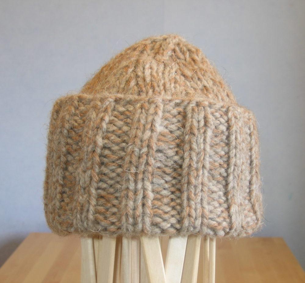 Bonnet pure laine naturelle bizet bellelaine