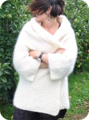 veste laine mohair bellelaine