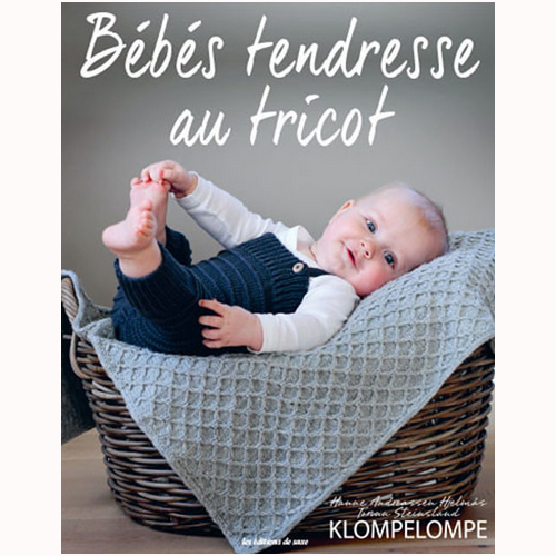 Bébés tendresse au tricot couverture Bellelaine