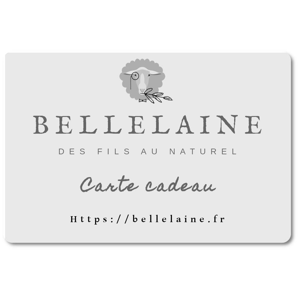 carte cadeau bellelaine