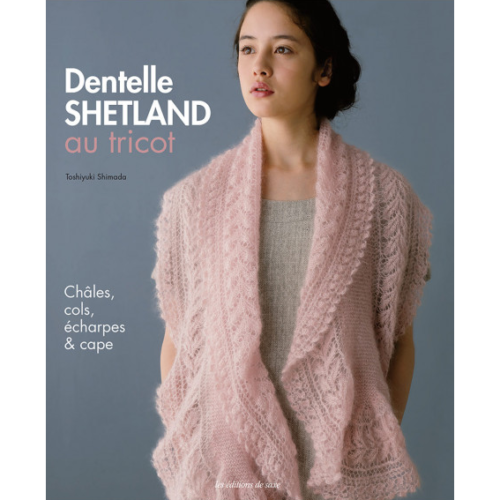Dentelle shetland au tricot bellelaine